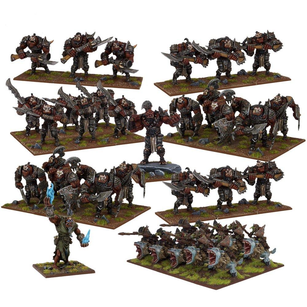 Kings of War: Ogre Mega Army Box