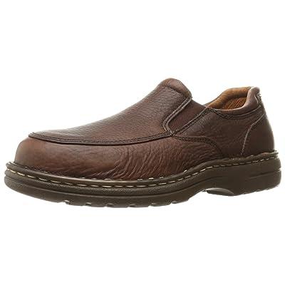 Amazon.com | AdTec Men's 1412 Slip-Moc Comfort Gold Chestnut Work Shoe | Oxfords