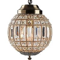 Retro Vintage Royal Empire Ball Style Big Led Crystal Modern Chandelier Lamp Lustres Lights E27 Living Room Bedroom…