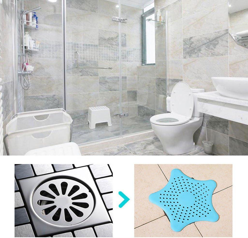 En acier inoxydable Filtre protecteur pour cheveux ou d/ébris multicolore 7,5 cm Lot de 3 bondes d/évier de cuisine ou de salle de bain