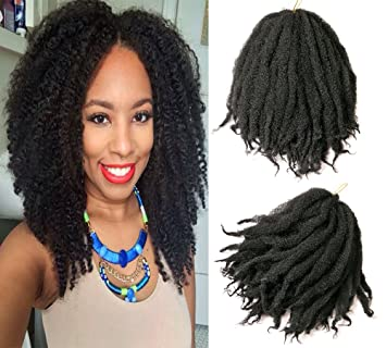 afro twist hair crochet braids ombre marley