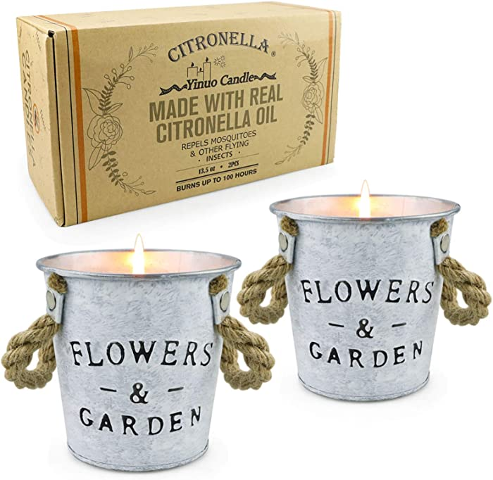 The Best Citronella Garden Candle
