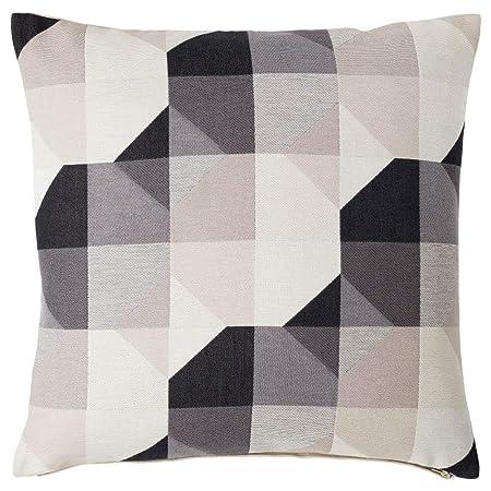 IKEA ASIA SVARTHO - Funda de cojín, Color Beige: Amazon.es ...