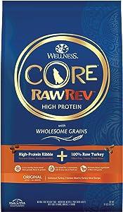 Wellness Core Rawrev Natural Dry Dog Food Original Turkey & Chicken