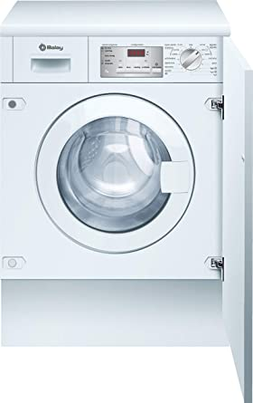 Balay 3TI776BC Integrado Carga frontal 7kg 1200RPM A++ Color blanco - Lavadora (Integrado, Carga frontal, Color blanco, Derecho, LED, Rojo)