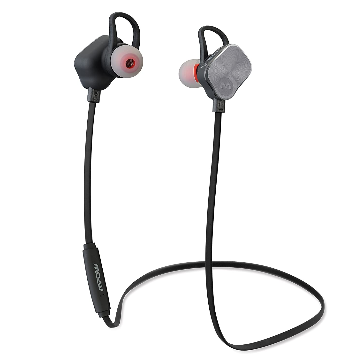 732f88ea5d1 Mpow Magneto Bluetooth 4.1 in-Ear Stereo Sports Headphones with 8-Hour Mic  Talking Time-Silver: Amazon.ca: Cell Phones & Accessories