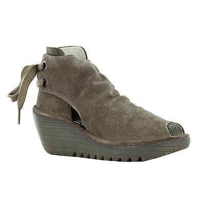 227ee2ace336e Fly London Yema Taupe Womens Boots Size 41 EU: Amazon.co.uk: Shoes & Bags