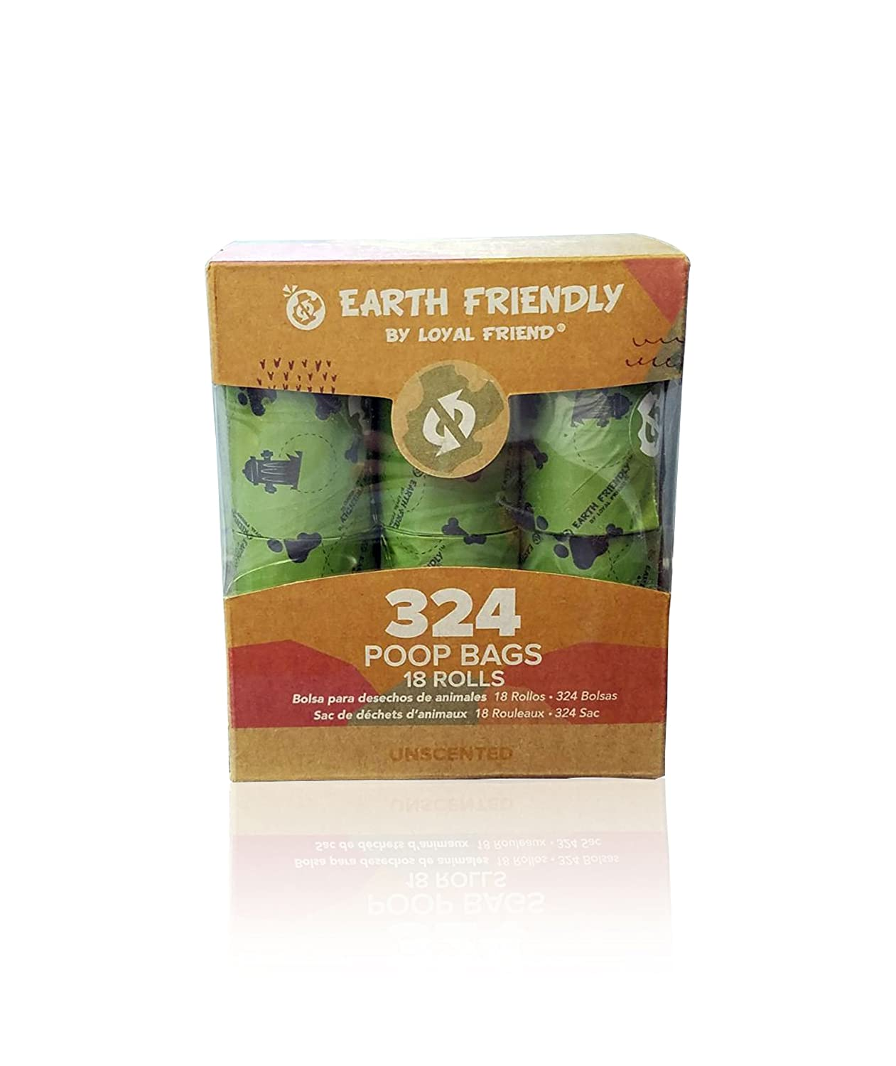 Earth Friendly EF2618 - Bolsas de recambio (18 rollos de 324 ...