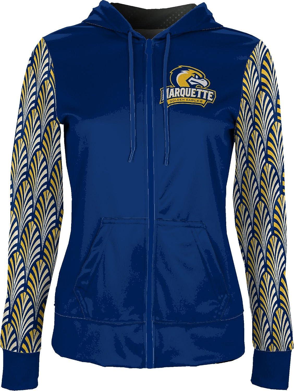 ProSphere Marquette University Girls Zipper Hoodie Deco School Spirit Sweatshirt