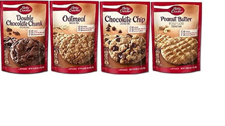 Betty Crocker Cookie Mix Variety Bundle, 17.5 oz each, 4pk