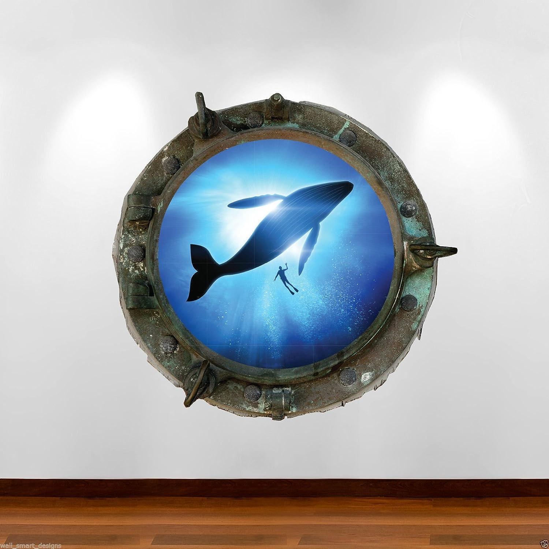 Wand Smart Designs wsd622l Bullauge Orca Titanic Jungen Mädchen ...