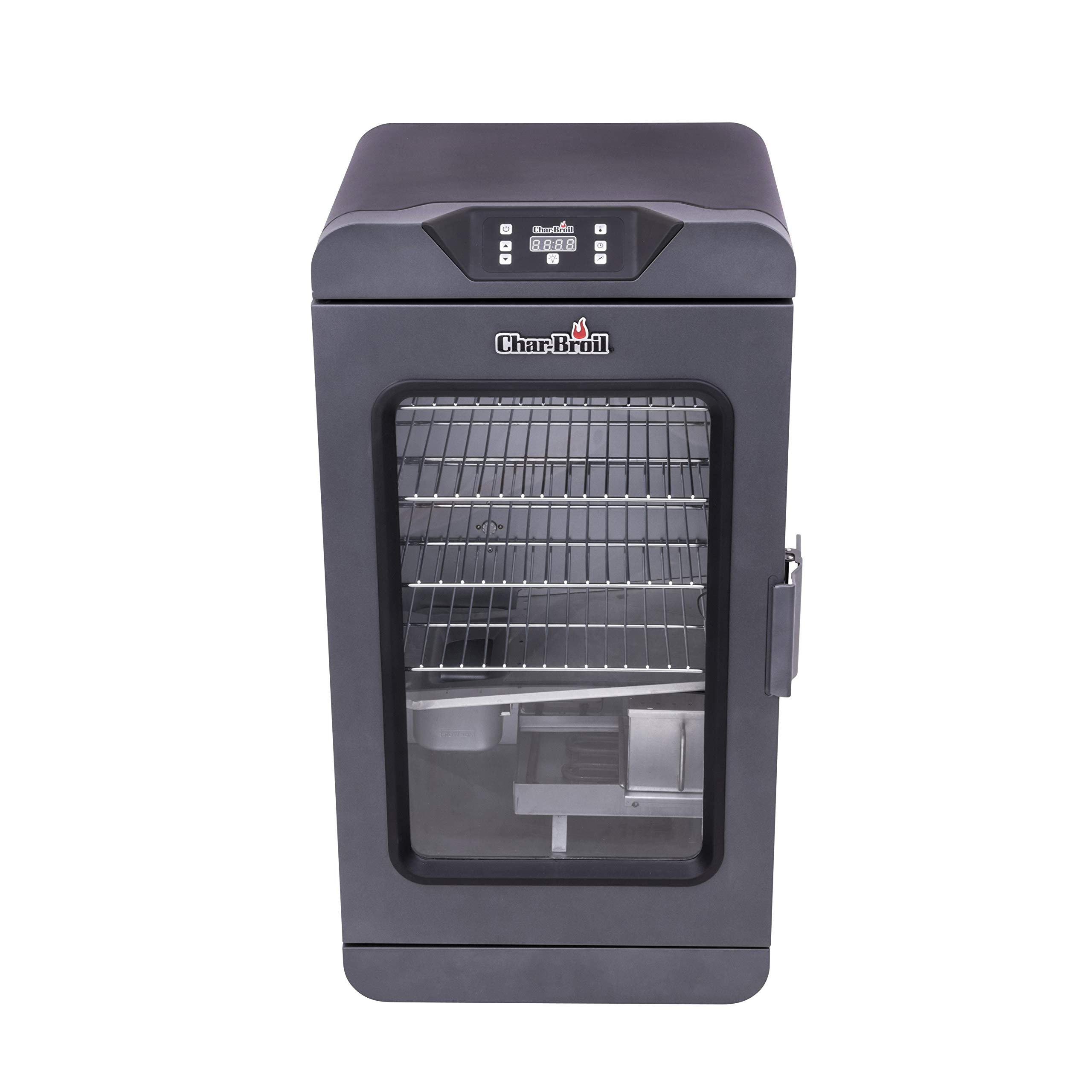 Char-Broil 19202101 Deluxe Black Digital Electric Smoker, 725 Square Inch