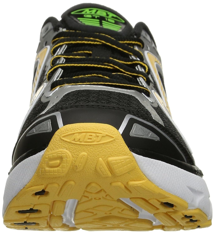 MBT Men s GT 16 Running Shoe Black Lime Orange Mesh