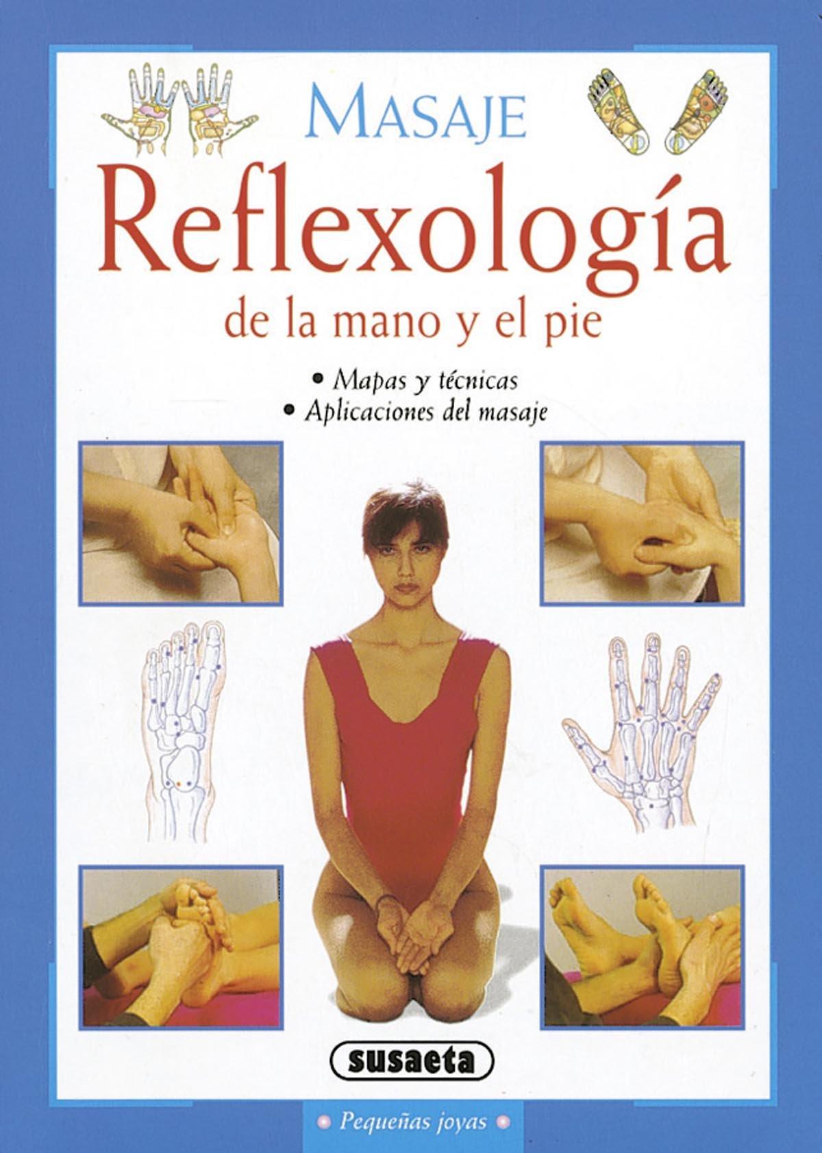 Reflexología de la mano y el pie (Pequeñas Joyas) Tapa blanda – 15 oct 2002 Equipo Susaeta 8430553614 Masajes Home & house maintenance