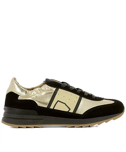 Philippe Model Zapatillas Para Mujer Negro y Dorado It - Marke Größe, Color, Talla 37 EU: Amazon.es: Zapatos y complementos