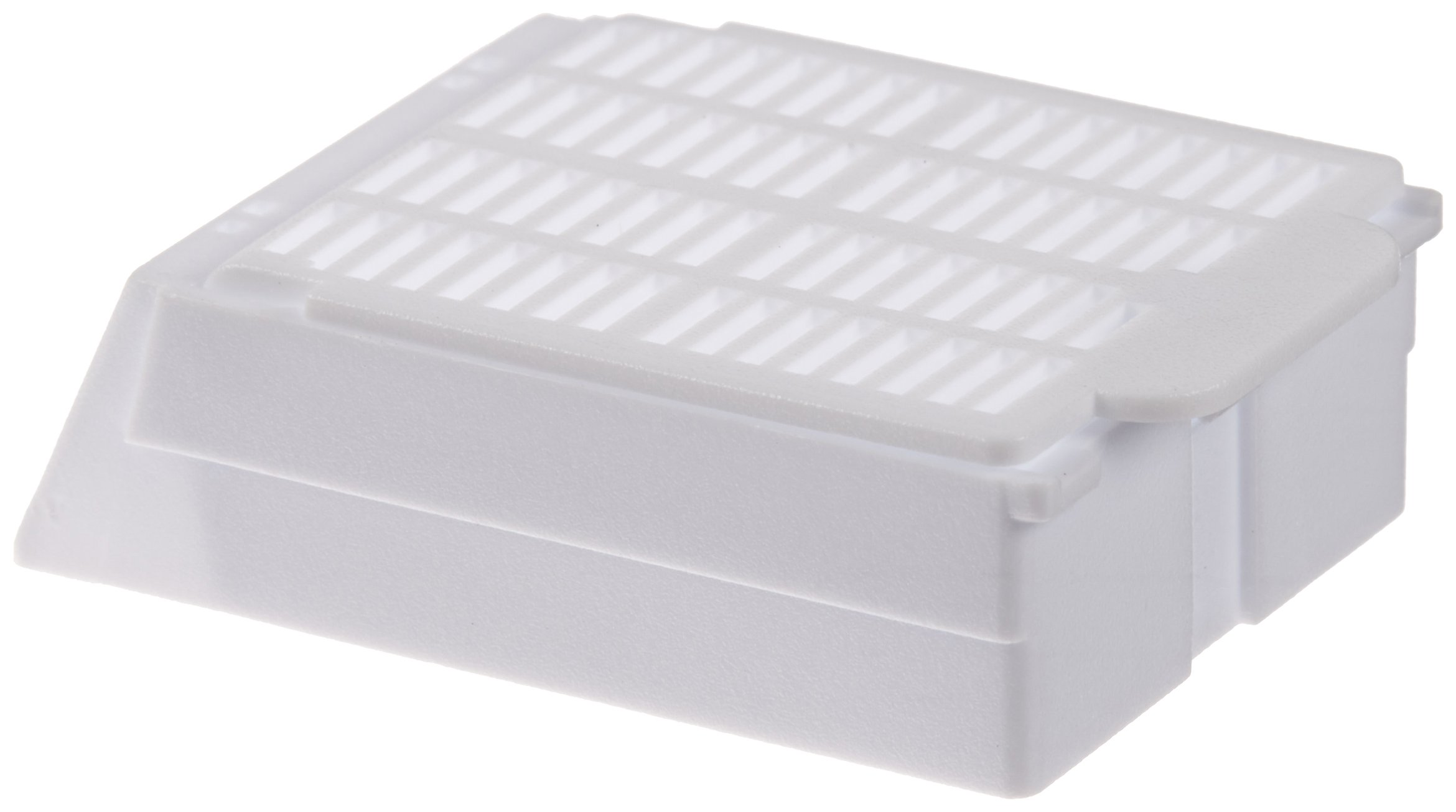 Simport Macrosette M512 Acetal Tissue Processing/Embedding Cassette with Lid, White (Case of 750)