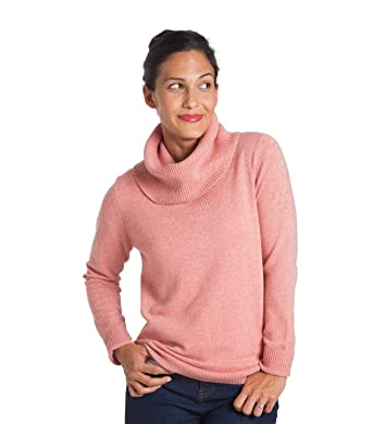 9ffac6daaec125 WoolOvers Womens New Cashmere Cowl Neck Sweater at Amazon Women s ...