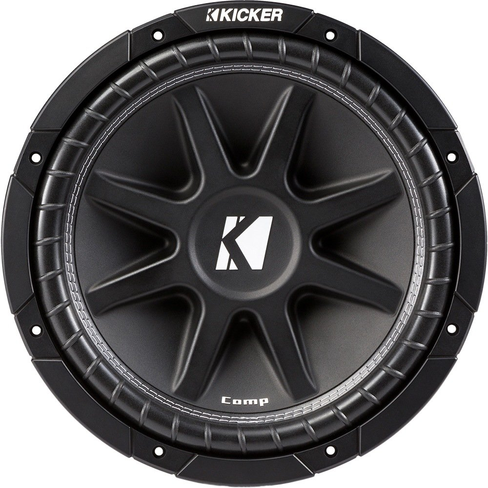 Kicker 43C124 12'' 300W 4-Ohm COMP Series Car Audio Sub Subwoofer C12
