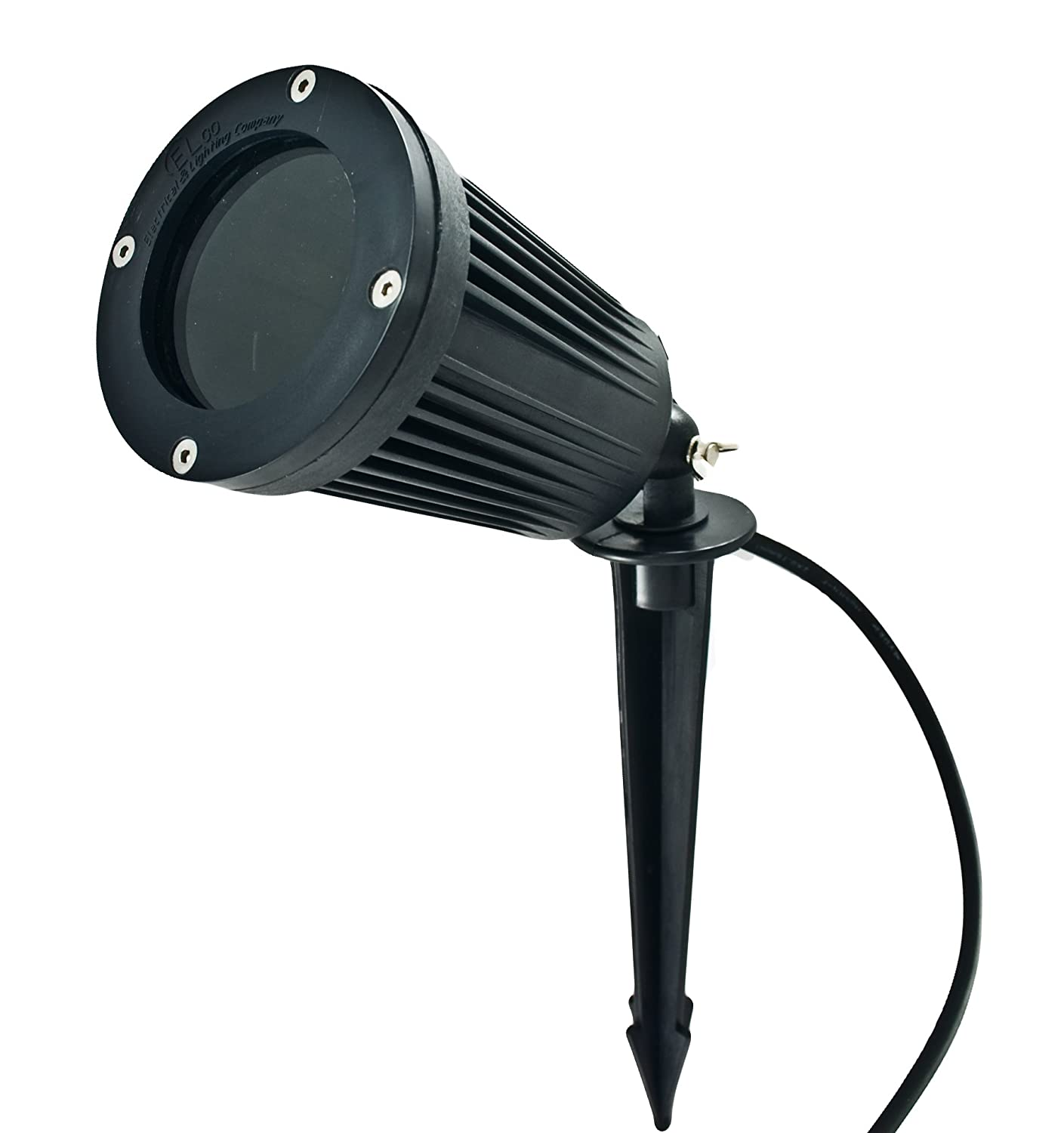 Garden GU10 240v 50W Spike Spotlight Light IP66 Amazoncouk