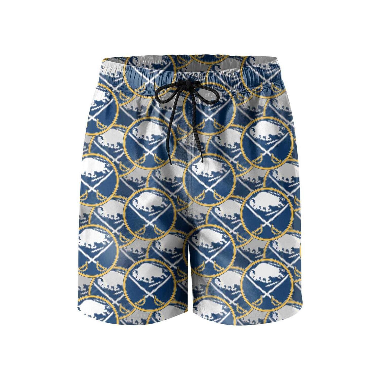 KEVE JAM Mens Swim Trunk Quick Dry Boardshort Short Beachwear with Mesh Lining Pockets Beach Shorts