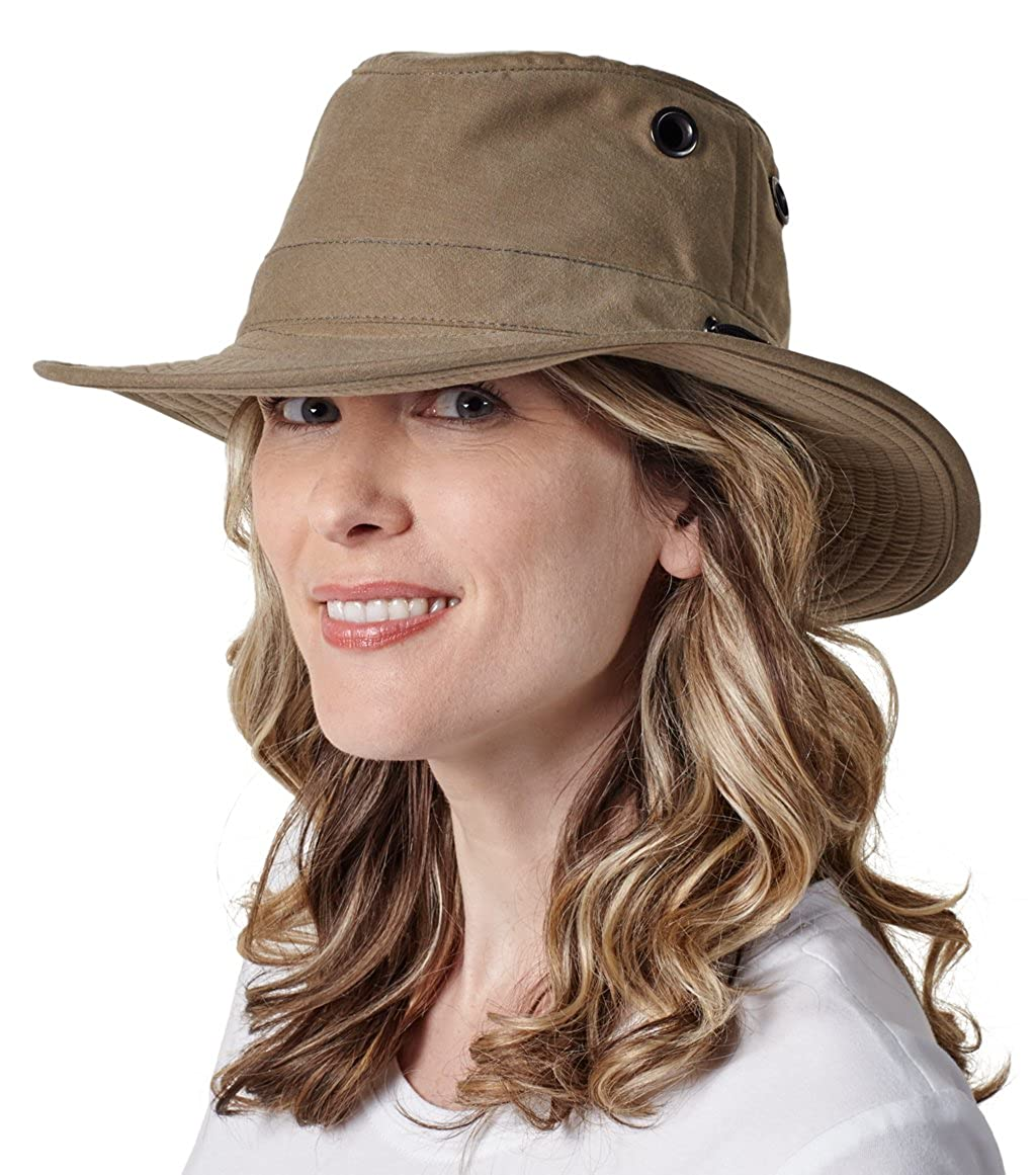 bcf549ee Tilley LWC55 Lightweight Waxed Cotton Hat: Amazon.co.uk: Clothing