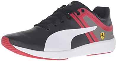 PUMA Men's F116 Skin SF Fashion Sneaker, Black White, ...