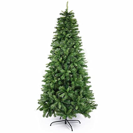 7ft artificial christmas tree pine tree with metal stand for christmas decorations - 7ft Artificial Christmas Tree