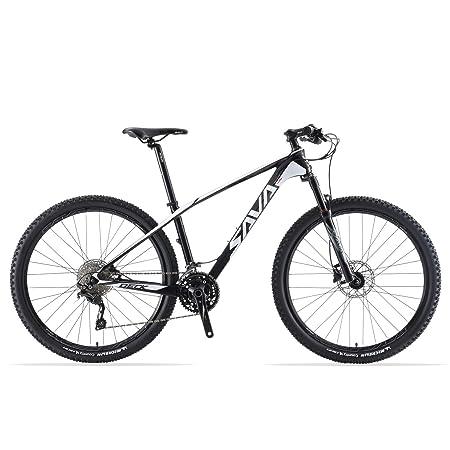 SAVADECK DECK300 Carbon Fiber Mountain Bike 27.5 29 Complete Hard Tail MTB Bicycle 30 Speed Shimano M6000 DEORE Group Set