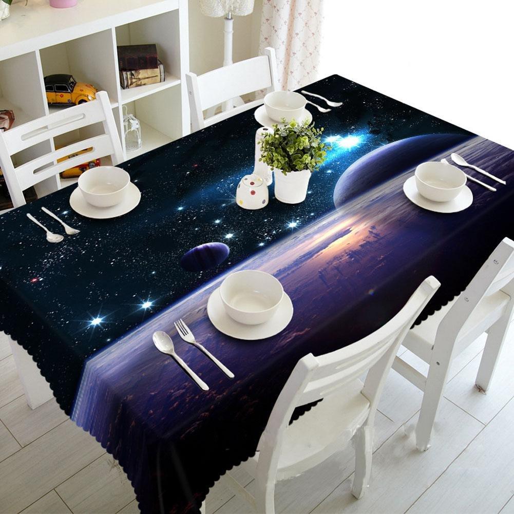 TBCZHB Mysteriöser Himmel staubdichte 3D Tischdecke, Oblong -70cm150cm B07KP16FL5 Tischdecken Schöne Farbe | Online Store