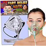 Love Stinks Fart Relief Mask – Fart Gifts– Funny Gifts for women – Funny Bridal Shower Gifts – Oxygen Mask Gag – Gifts for Wives – Dutch Oven Mask by Gears Out