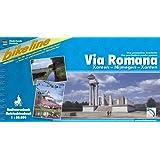 Via Romana   (zweisprachig niederländisch/deutsch) (Bikeline Radtourenbücher)
