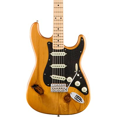 2017 Limited Edition American Vintage 59 Pine Stratocaster Natural