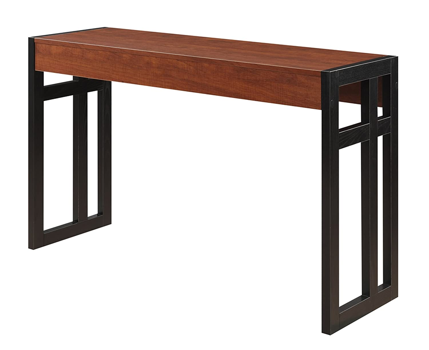 Amazon convenience concepts monterey console table black amazon convenience concepts monterey console table blackcherry kitchen dining geotapseo Image collections