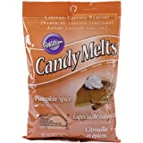 Wilton 1911-123 Pumpkin Spice Candy Melt, 10 oz package