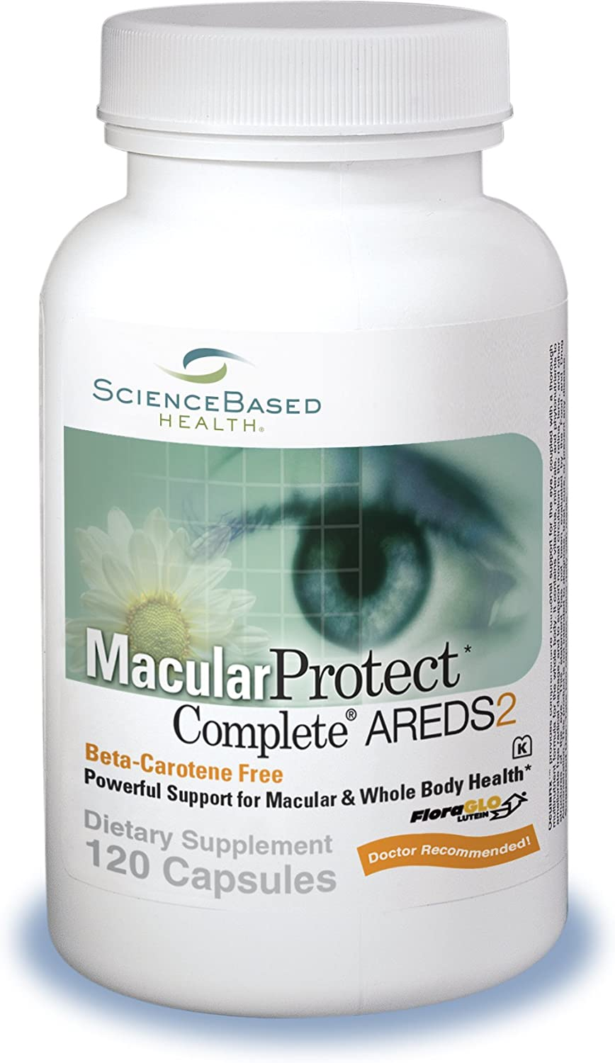 MacularProtect Complete AREDS2 Vitamin Mineral Supplement