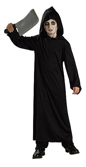 Halloween - Disfraz de Monje Negro del Infierno para niño, infantil 5-7 años (Rubies 881913-M)