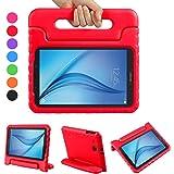 NEWSTYLE Samsung Tab E 9.6 Case - Custodia Protettiva Antiurto con Supporto per Bambini per Samsung Galaxy Tab E 9.6 Pollice SM-T560 SM-T561 Tablet(Rosso)