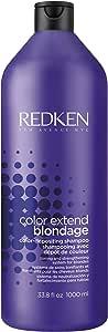 Redken Color Extend Blondage Color Depositing Shampoo, 1000 ml