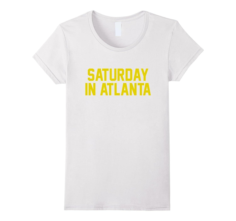 Saturday in Atlanta Football T-Shirt for Game Day