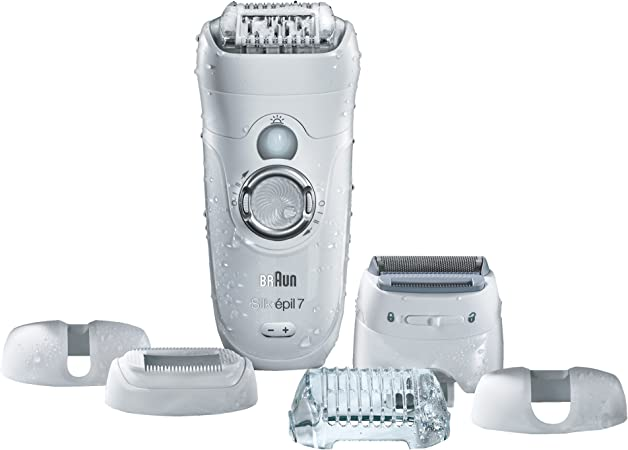 Braun Silk Epil 7 7 561 Women S Wet And Dry Cordless Epilator Electric Hair Removal With 6 Extra Attachments Ships With A 2 Pin Plug Amazon Co Uk Health Personal Care