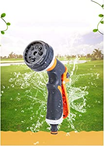 DCLYSI Garden Nozzle - 2,Water Hose Nozzle Heavy Duty High Pressure Garden Sprayer for Car Wash, Cleaning, Watering Lawn and Garden and Showering Dog & Pets