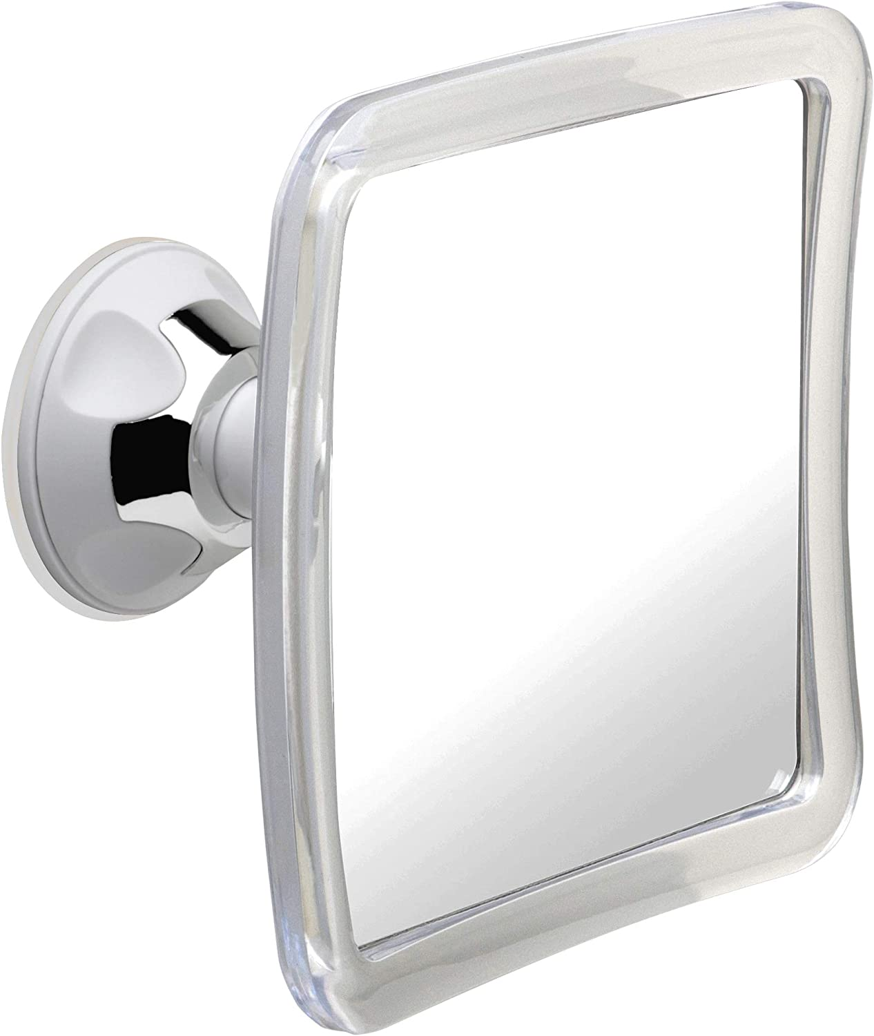 Mirrorvana Fogless Shower Mirror for Fog Free Shaving with Upgraded Suction-Cup, Shatterproof Surface and 360° Swivel, 6.3 x 6.3 Inch : Beauty