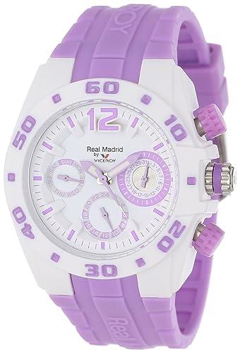 Viceroy 432836-75 - Reloj de Pulsera Mujer, Caucho, Color Morado: Amazon.es: Relojes