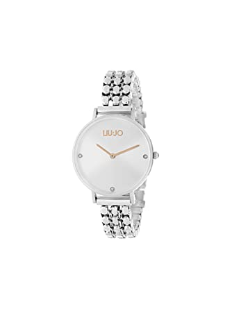 Orologio Donna Framework Silver Liu Jo Luxury  Amazon.it  Orologi de00aa95e23