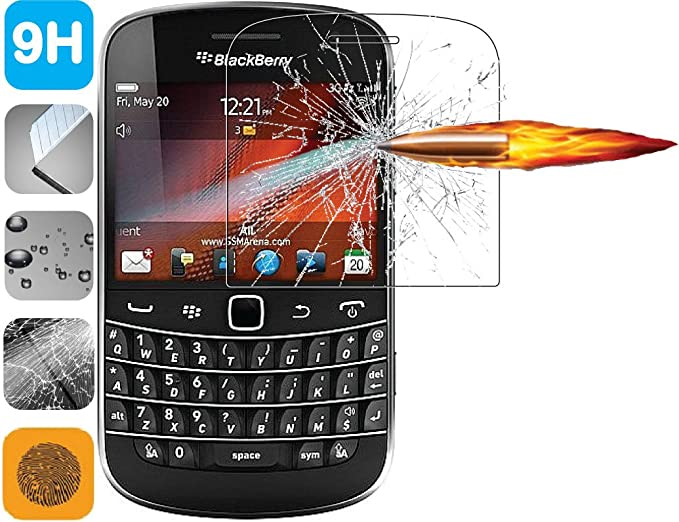 Premium 9H Tempered Glass LCD Screen Protector Guard for BlackBerry Bold  9900 9930
