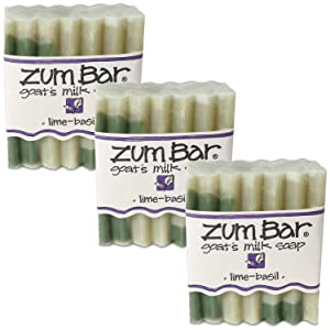 Lime Basil Zum Bars Multipack (3 Count)<br>by Indigo Wild