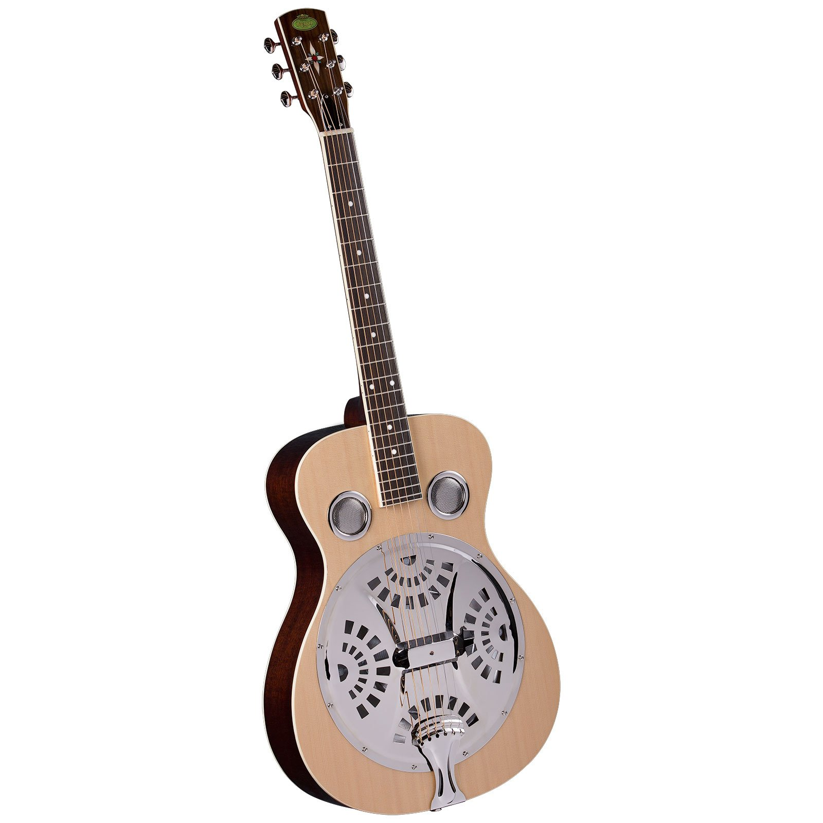 Regal RD-40N Studio Series Roundneck Resophonic Guitar - Natural by Regal Resophonic Guitars