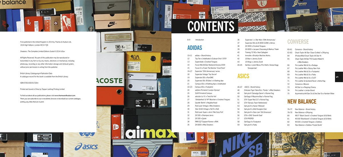 Sneakers: The Complete Limited Editions Guide: Amazon.it: U