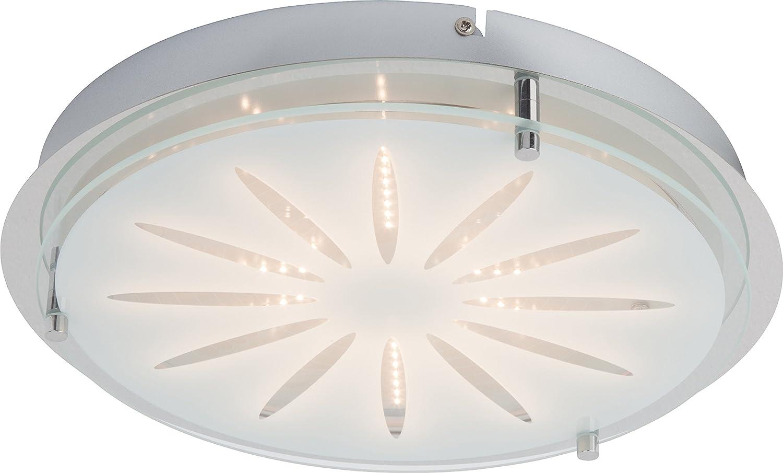 Brilliant G94439//15 Fantasie LED Deckenleuchte Wandleuchte 17W Kristall 1700lm