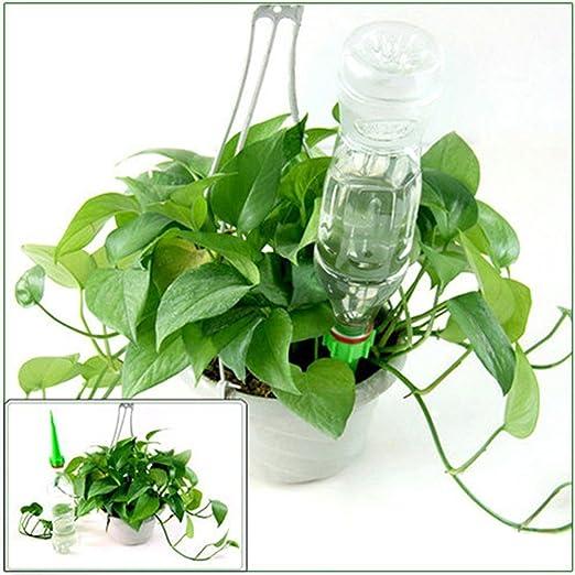 good01 4 piezas cono de jardín riego Spike Plant Waterers botella ...